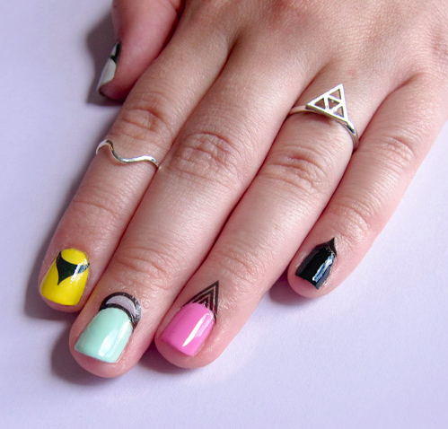 RAD Nails Cuticle Art Tattoos