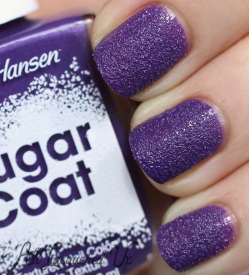 Sally Hansen Sugar Coat Gummy Grape nail polish swatch