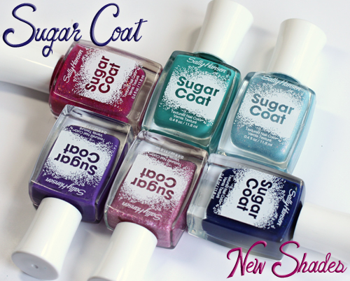 Sally Hansen Sugar Coat texture nail polish