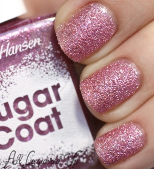 Sally Hansen Sugar Coat Treat Heart nail polish swatch