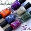 Zoya Fall 2013 PixieDust Nail Polish Swatches & Review