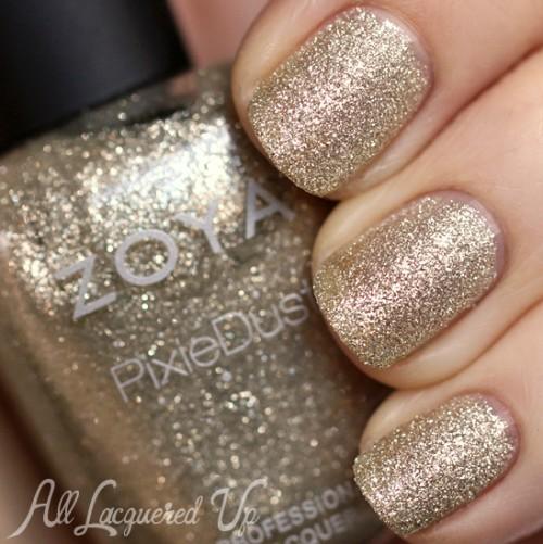 Zoya Tomoko PixieDust nail polish