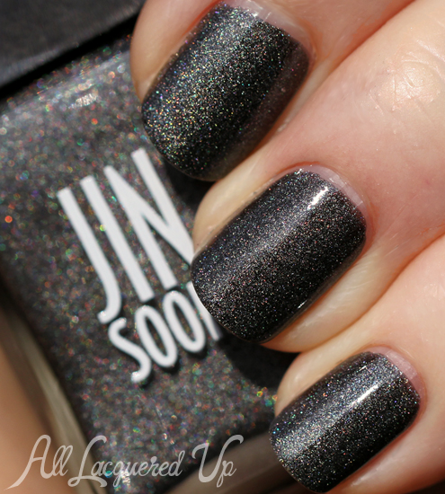 JINsoon Mica holographic nail polish swatch