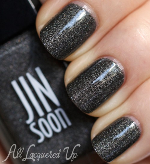 JINsoon Mica nail polish swatch