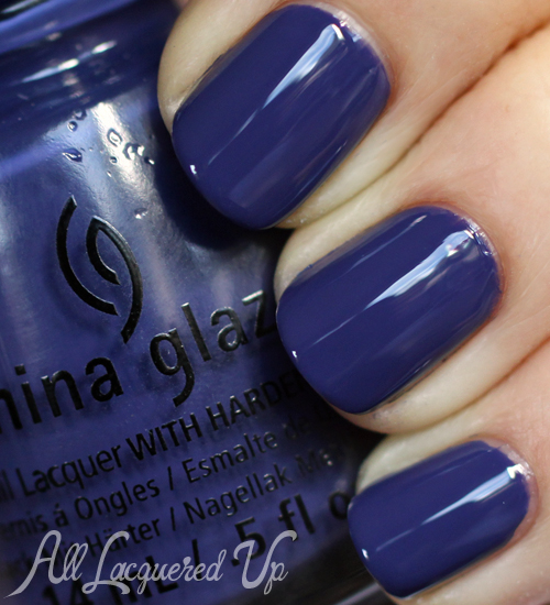 China Glaze Queen B nail polish
