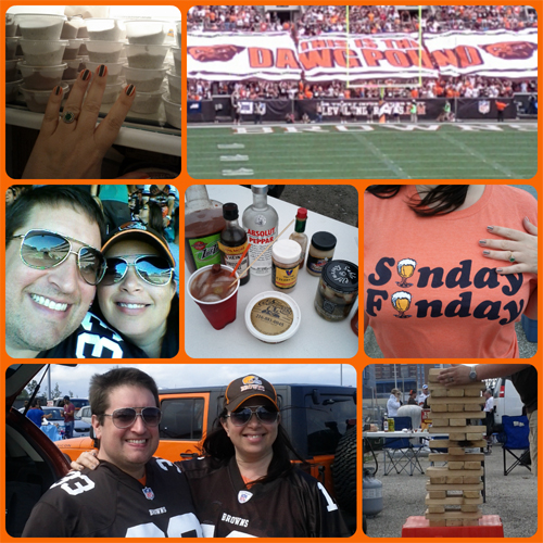 Cleveland Browns Tailgating #Nailgating