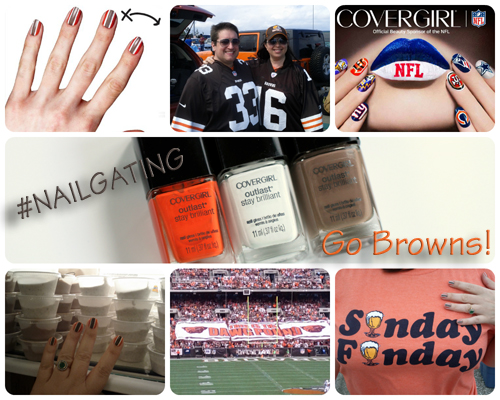 COVERGIRL #Nailgating with the Cleveland Browns
