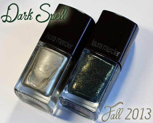 Laura Mercier Fall 2013 Dark Spell nail polish - Forbidden & Bewitched
