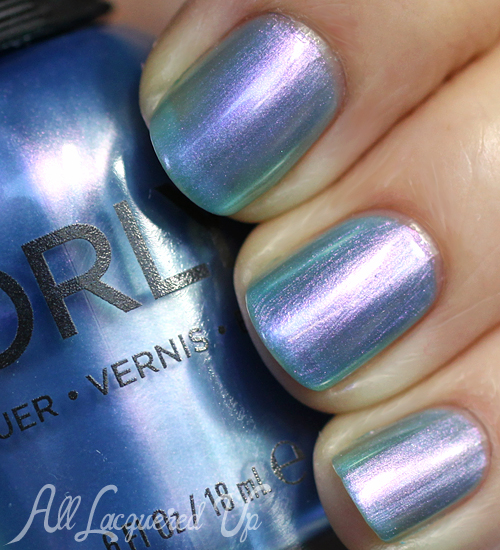 Orly Angel Rain nail polish swatch