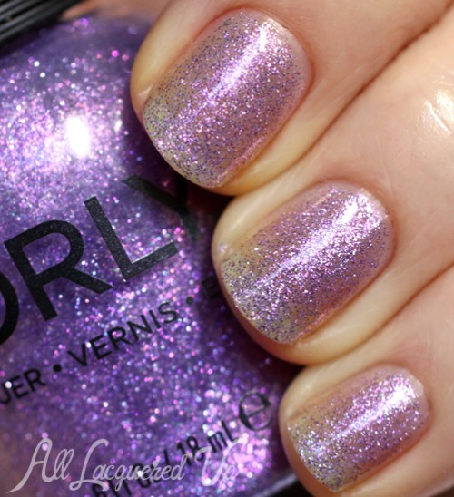 Orly Pixie Powder nail polish swatch