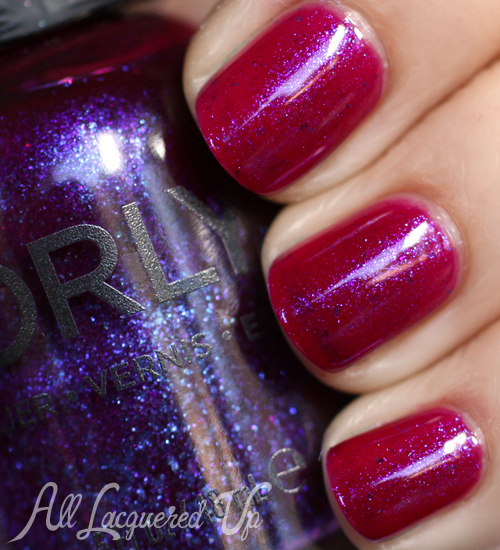 Orly Purple Poodle nail polish swatch