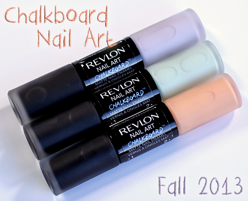 Revlon Nail Art Chalkboard™ Matte Nail Polish for Fall 2013