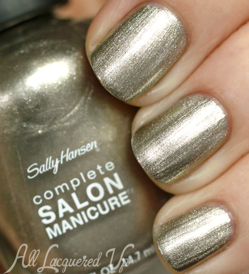 Sally Hansen Coat of Arms nail polish swatch