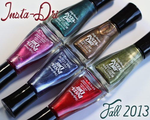 Sally Hansen Insta-Dri for Fall 2013