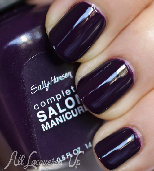 Sally Hansen Malbec nail polish swatch