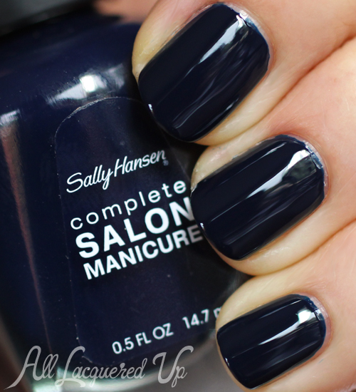 Sally Hansen Night Watch nail polish swatch
