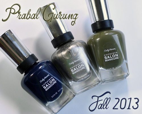 Sally Hansen Prabal Gurung Fall 2013 Designer nail polish
