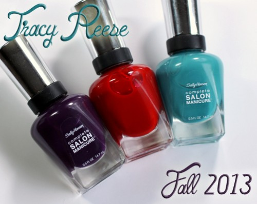 Sally Hansen Tracy Reese Fall 2013