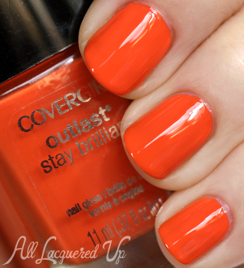 COVERGIRL Go-Go Mango nail polish swatch