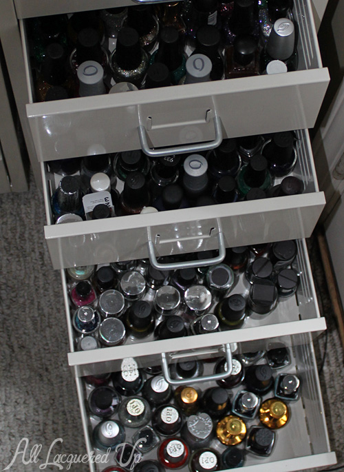 IKEA Helmer nail polish storage drawer