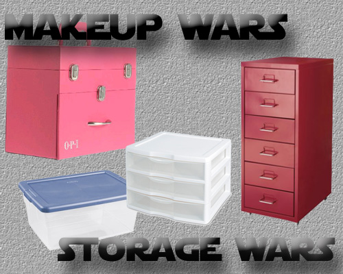 Makeup Wars - Beauty, Makeup and Nail Polish Storage