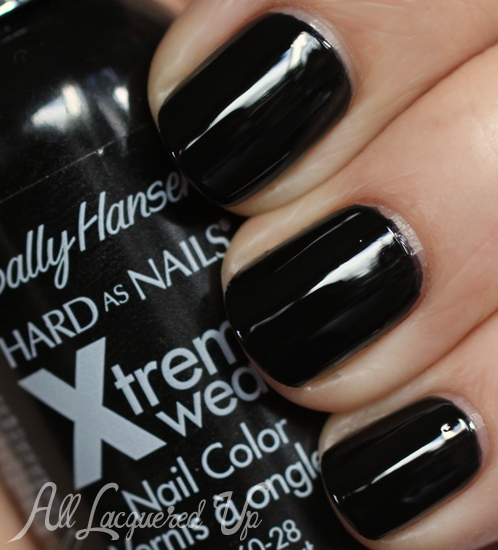 Sally Hansen Black Out Nail Polish