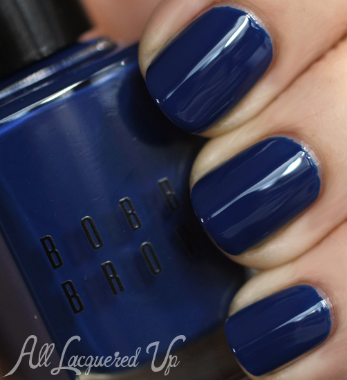 Bobbi Brown Navy Nail Polish Swatch