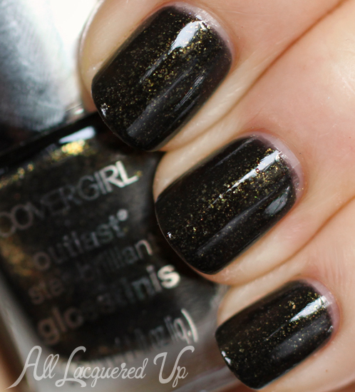 COVERGIRL Black Heat nail polish from the Capitol Collection for Catching Fire