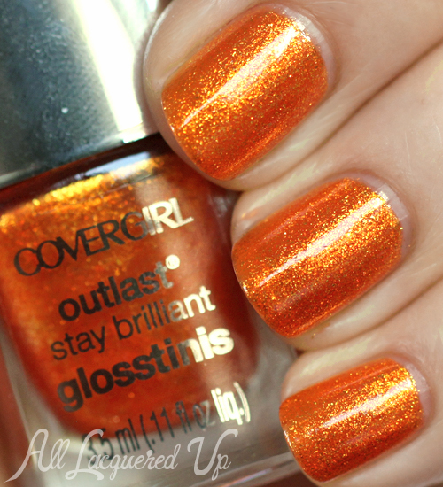 COVERGIRL Flamed Out nail polish from the Capitol Collection for Catching Fire