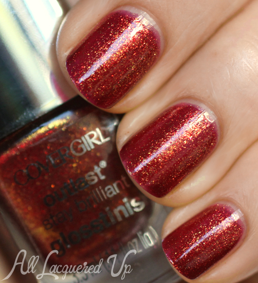 COVERGIRL Inferno nail polish from the Capitol Collection for Catching Fire