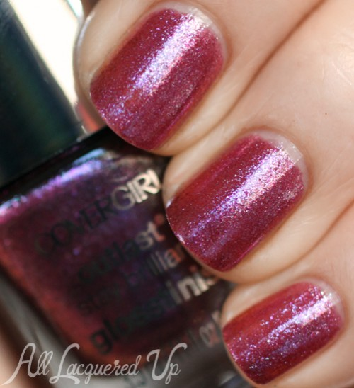 COVERGIRL Pyro Pink nail polish from the Capitol Collection for Catching Fire