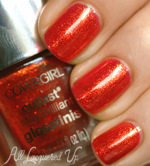 COVERGIRL Rogue Red nail polish from the Capitol Collection for Catching Fire