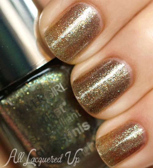 COVERGIRL Scalding Emerald nail polish from the Capitol Collection for Catching Fire