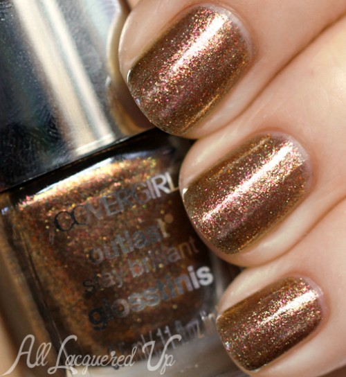 COVERGIRL Seared Bronze nail polish from the Capitol Collection for Catching Fire