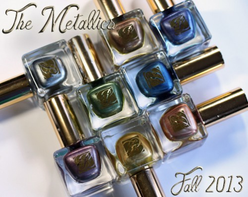 "Estee Lauder Fall 2013 ""The Metallics"" Nail Color"