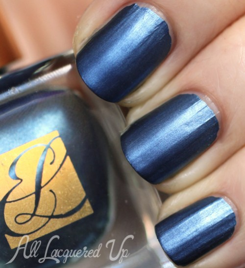 Estee Lauder Midnight Metal metallic nail polish
