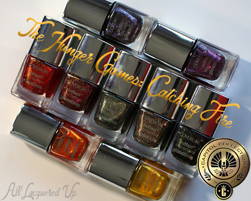 Hunger Games Catching Fire COVERGIRL Capitol Collection Glosstinis COVERGIRL The Capitol Collection Outlast Nail Glosstinis for The Hunger Games: Catching Fire