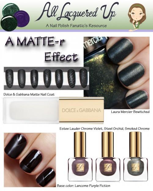 Fall 2013 Nail Trend Matte Nails