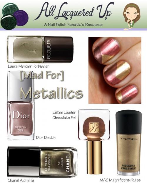 Fall 2013 Nail Trend Metallics