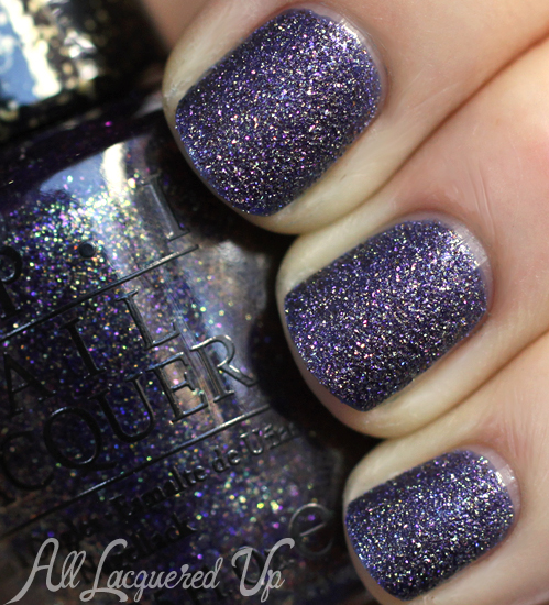 OPI Alcatraz Rocks Liquid Sand nail polish swatch