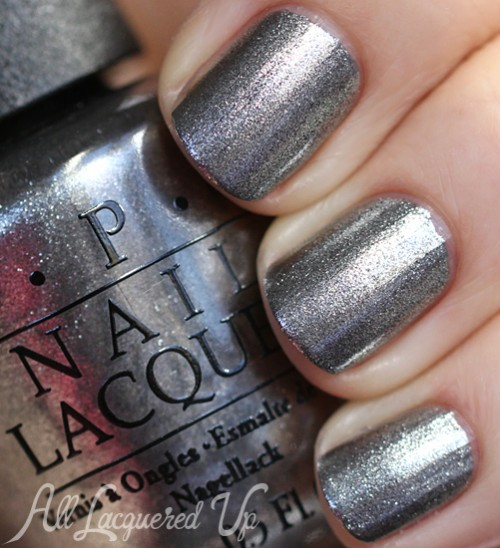 OPI Haven't The Foggiest nail polish swatch