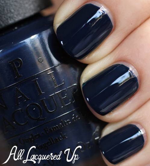 OPI Incognito in Sausalito nail polish swatch