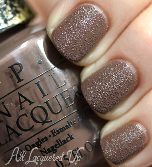 OPI It's All San Andreas's Fault liquid sand