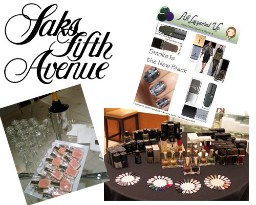 Fall 2013 Nail Trends at Saks Fifth Avenue Beachwood