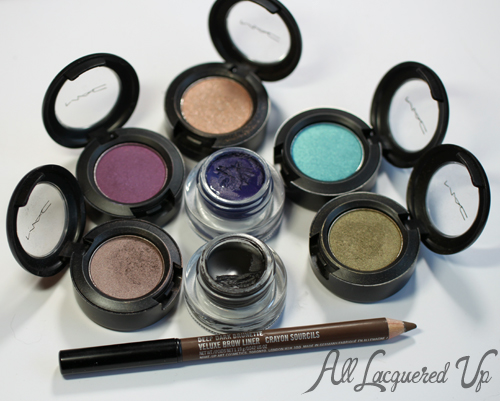 MAC Cosmetics Eye Shadow Favorites