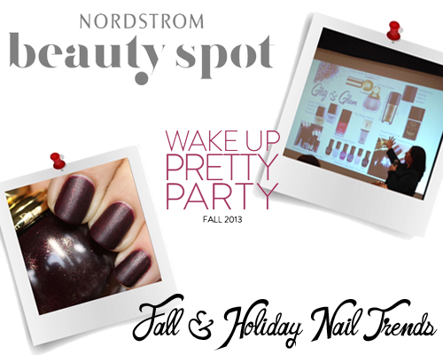 Talking Fall and Holiday Nail Trends at Nordstrom's Pretty Party
