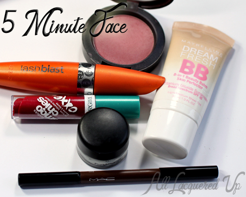 5 Minute Face Products from COVERGIRL, MAC and Maybelline
