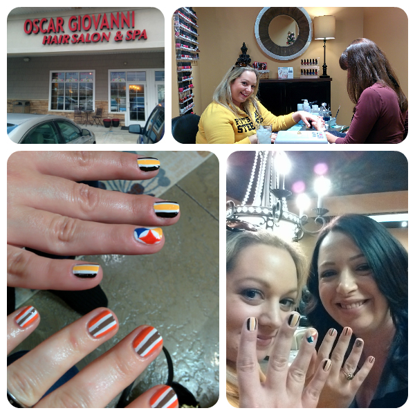 COVERGIRL Fanicures nail art at Oscar Giovanni Salon