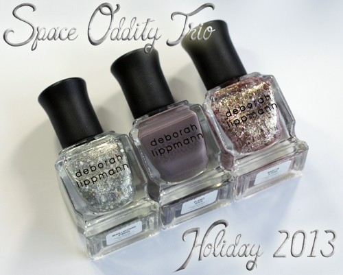 Deborah Lippmann Space Oddity Trio for Holiday 2013