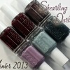 "Essie Winter 2013 ""Shearling Darling"" Nail Polish Collection Swatches & Review"